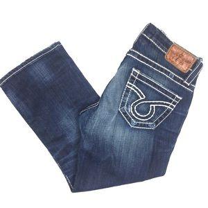 Big Star LIV Capri Jeans Size 27